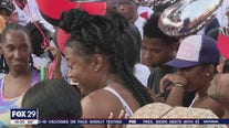 Balloon release held for Boys' Latin student killed in West Philly triple shooting