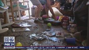 Bucks County flood victims assess damage, begin recovery process