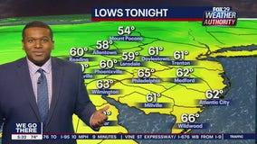 Weather Authority: 5 p.m. Wednesday Update