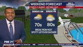 FOX 29 Weather Authority Saturday 11 p.m. Forecast