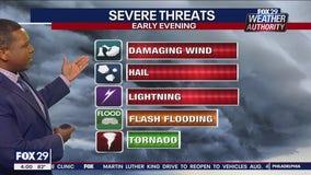 Weather Authority: 4 p.m. Wednesday forecast