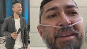 TV host battling COVID-19 on supplemental oxygen despite having no prior underlying conditions