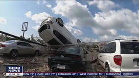 Cleanup continues in Bensalem Township after EF-3 rips through Bensalem Township