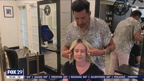 Celebrity stylist, Martino Cartier, donates wigs to women battling cancer