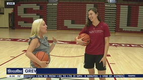 The 'real' Mare Sheehan plays basketball at St. Joseph's University