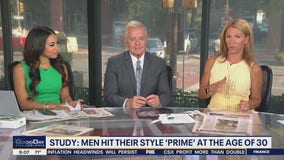 Study: Men hit their style 'prime' at age 30