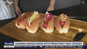 Keeping cool with drinks and food at White Dog Cafe in Glen Mills
