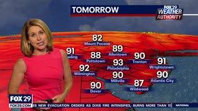 Weather Authority: Sunday, 10 p.m. update
