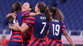 Tokyo Olympics: US women's soccer dominates New Zealand for 1st win