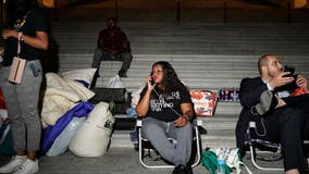 Cori Bush camped at Capitol to protest looming expiration of eviction ban