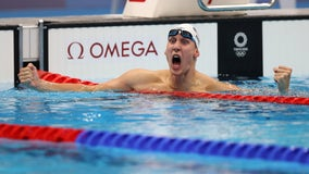 Tokyo Olympics: US wins first gold medal for men's 400-meter IM swim
