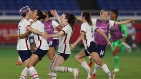 Tokyo Olympics: US women's soccer team defeats the Netherlands on penalty kicks