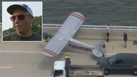 'I'm going to go for it': Pilot, 18, describes moment he landed banner plane on bridge in Ocean City