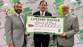 5 winners claim $516 million Mega Millions jackpot after ticket sold in Bucks County