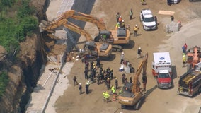 Construction worker killed after mud wall collapses in North Philadelphia