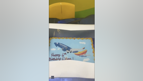 Mom throws Southwest Airlines-themed birthday party for 6-year-old son