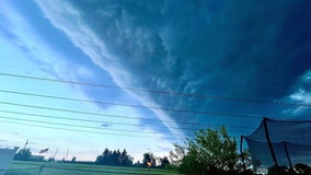 No, it wasn't the apocalypse; shelf clouds leave Philadelphia area residents in awe