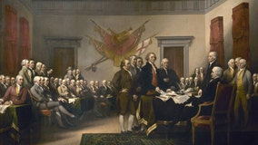 How was the weather when the U.S. declared independence in Philadelphia on July 4, 1776?