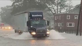 Torrential rain prompts flash flooding, stranding people across Bucks County