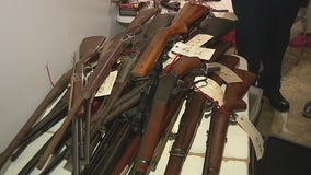 Gun buyback event nets over 100 guns