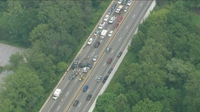 Westbound lanes reopen on I-76 in KOP after multi-vehicle crash on I-76