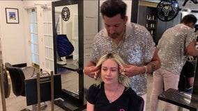 Local celebrity stylist's charity donates over 25,000 wigs a year to women battling cancer