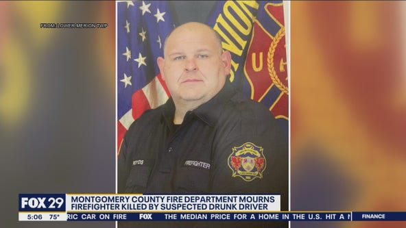 Montgomery County Fire Dept. mourns firefighter killed by suspected drunk driver