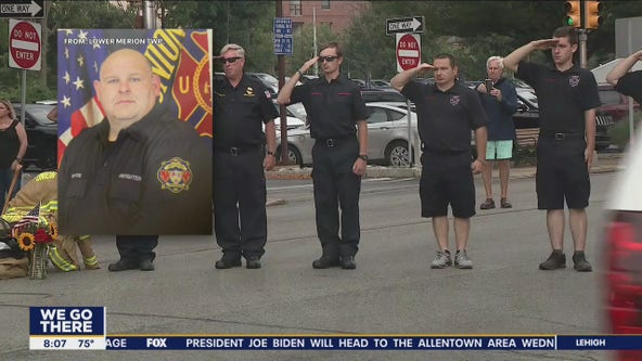 Colleagues remember Tom Royds, second Lower Merion firefighter killed in line of duty thing month