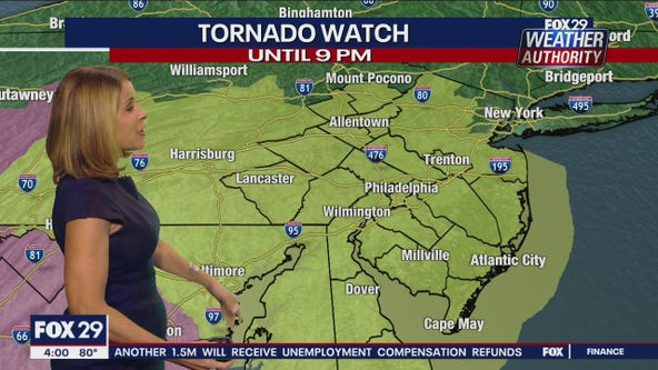 Weather Authority: Tornado warning in effect for Ocean County