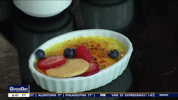 Local chef shows how to whip up the perfect Creme Brulee