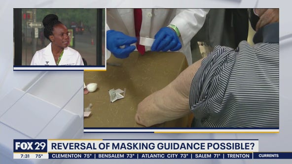 CDC weighs reversal of masking guidance