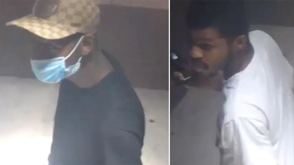 2 wanted for allegedly firing at officers as they rendered aid to shooting victim in North Philadelphia