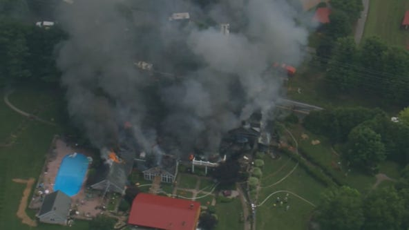 4 kids, 2 adults injured in explosion, fire at Chester County home