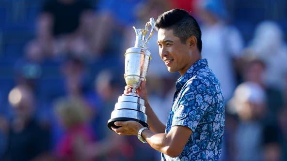 Los Angeles native Collin Morikawa wins the Open Championship, his second major title