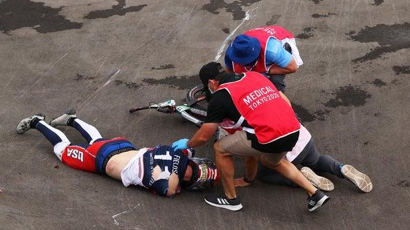 US BMX rider Connor Fields sustained brain hemorrhage in Olympics crash