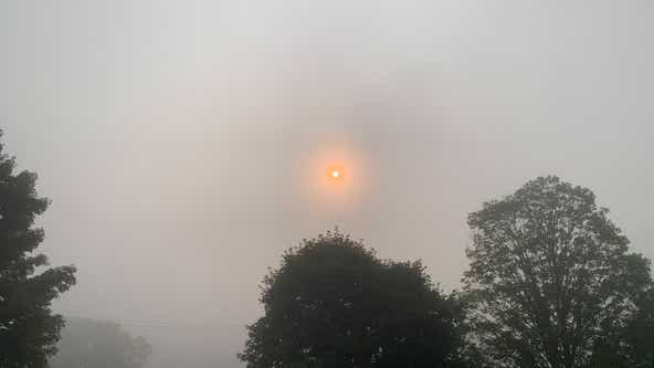 Air quality alerts issued as wildfire smoke engulfs the Delaware Valley from over 2,000 miles away