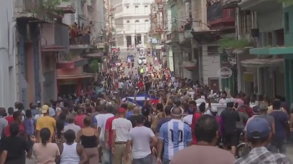 Biden administration imposes new Cuba sanctions over human rights abuses