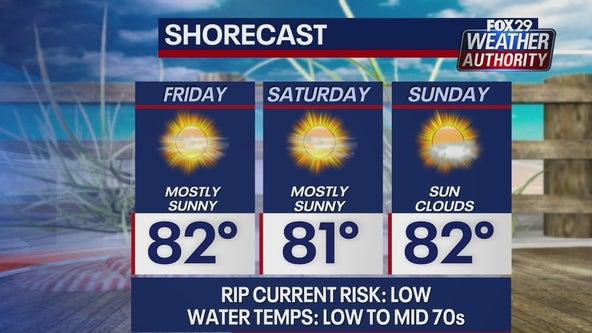 Weather Authority: Sunny, pleasant Friday ahead