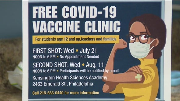 North Philly pharmacist teams up with School District of Philadelphia to host vaccine clinic