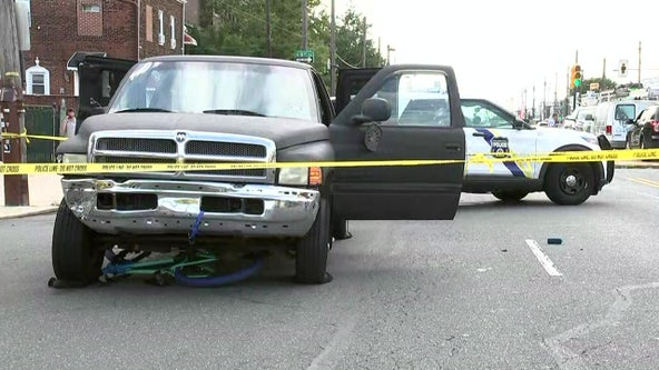 Police: Driver who struck 12-year-old with truck in South Philadelphia was impaired, will face DUI charges