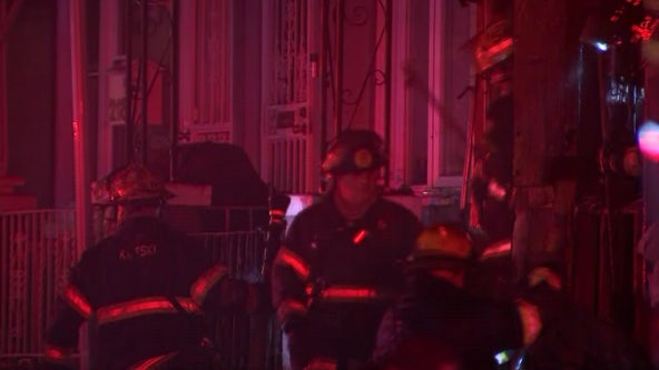 2 people, 12 and 80, hospitalized following house fire in Cobbs Creek