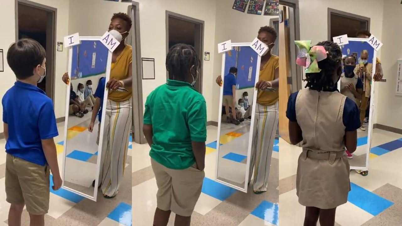 WATCH: Atlanta Teacher Goes Viral for Video Showing Elementary School Students Saying Positive Affirmations to Themselves in Mirror