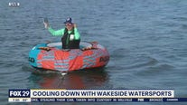 Cooling down with Wakeside Watersports