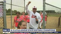 Delaware Valley Youth Athletic Association 9-11 Team wins Little League State Softball Championship