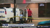 Man dead after robbery turns into shooting at gentlemen's club in South Philadelphia