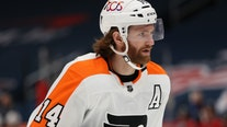 Flyers sign center Couturier to $62M, 8-year extension