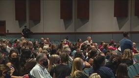 Central Bucks School Board meeting explosive, despite new mask mandate