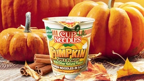 Pumpkin Spice Cup Noodles to hit Walmart shelves this October