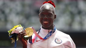 Athing Mu wins Olympic gold in 800M, giving family reason to celebrate back in Trenton