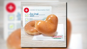 Krispy Kreme sweetens deal by offering another free doughnut to vaccinated customers